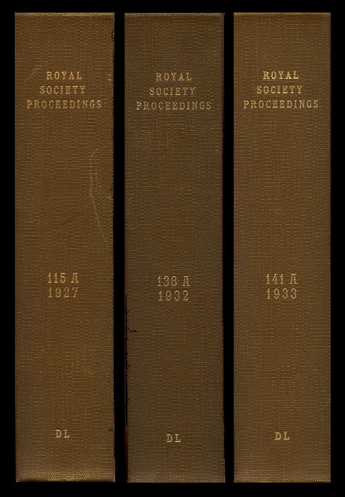 A Contribution to the Mathematical Theory of Epidemics I in Proceedings of the Royal Society of London A 115, 1927) WITH Contributions to the Mathematical Theory of Epidemics. II. The Problem of Endemicity in Proceedings of the Royal Society of London A 138, 1932 WITH Contributions to the Mathematical Theory of Epidemics. III. Further Studies of the Problem of Endemicity in Proceedings of the Royal Society of London A 141, 1933. W. O. Kermack, A. G. McKendrick.