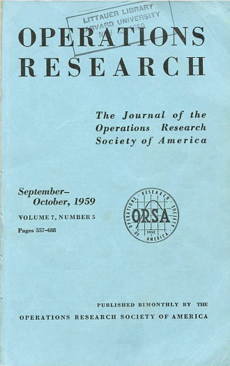 Application of a technique for research and development program evaluation in Operations Research 7 No. 5 pp. 646 – 669, September-October 1959 [Pioneering Statistical Tool: PERT]. D. G. Malcolm, W., Fazar, Clark C. E., J. H., Rosenboom.