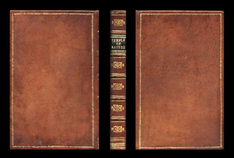 The Temple of Nature or, the Origin of Society: A Poem, With Philosophical Notes, 1804. Darwin Erasmus.