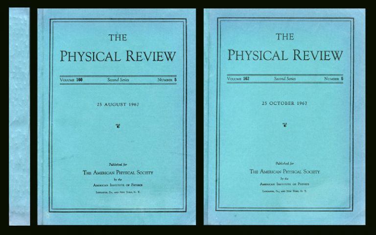 """Quantum Theory of Gravity. I. The Canonical Theory"" (Physical Review 160 No. 5 pp. 1113-1148, 25 August 1967) and ""Quantum Theory of Gravity. II. The Manifestly Covariant Theory. III. Applications of the Covariant Theory"" (Physical Review 162, No. 5, pp. 1195-1238 and 1239-1256, 25 October 1967). Bryce DeWitt."