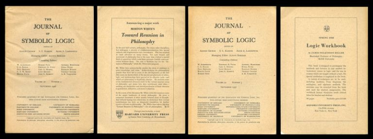 Identity, Variables, and Impredicative Definitions in The Journal of Symbolic Logic, Vol. 21, No. 3, Sept. 1956, pp. 225-245 AND Vicious Circle Principle and the Paradoxes in The Journal of Symbolic Logic, Vol. 22, No. 3, Sept. 1957, pp. 245-249. K. Jaakko J. Hintikka.