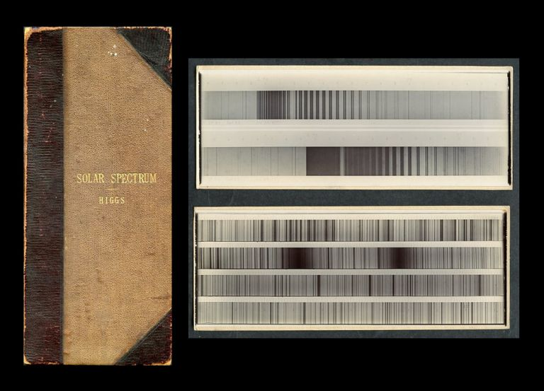 The Photographic Atlas of the Normal Spectrum. London: William Wesley & Son. 1894. George Higgs.