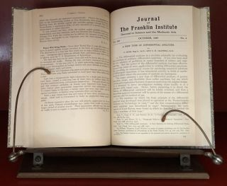 """A New Type of Differential Analyzer"" in Journal of the Franklin Institute 240 pp. 255-326, 1945 WITH ""A Continuous Integraph"" in Journal of the Franklin Institute 203 pp. 63–84, 1927"