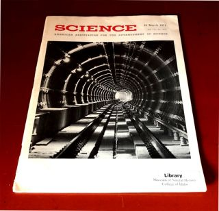 Tumor Detection by Nuclear Magnetic Resonance by Raymond Damadian in Science 171, No. 3976, pp....