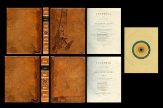 Zoonomia; or, The Laws of Organic Life, Volumes I & II, 1794 & 1796 [TRUE FIRST EDITION, London:...