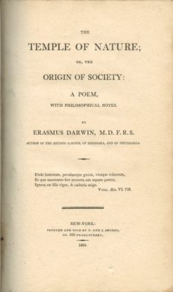 The Temple of Nature or, the Origin of Society: A Poem, With Philosophical Notes, 1804