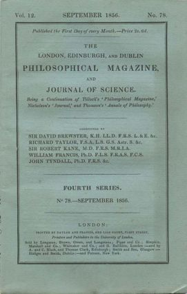On Scheutz's calculating machine, in The London, Edinburgh and Dublin Philosophical Magazine...