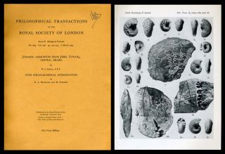 """Jurassic Ammonites From Jebel Tuwaiq, Central Arabia,"" with R. A. Bramkamp; M. Steineke ""With Stratigraphical Introduction"" in Philosophical Transactions of the Royal Society of London, No. 633, Vol. 236, Series B, 6 March 1952. W. J. Arkell."