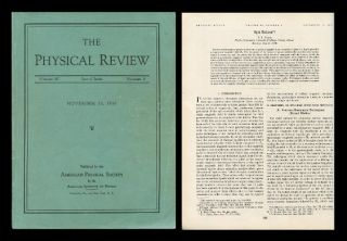 Spin Echoes in Physical Review, Volume 80, Number 4, November 15, 1950, pp. 580-594. E. L. Hahn,...