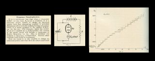 Frequency demultiplication in Nature 120, Number 3019, 1927, pp. 363-364. B. van der. And Mark...
