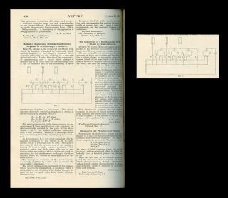 Method of Registering Multiple Simultaneous Impulses of Several Geiger's Counters in Nature 125,...