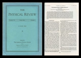 """The Quantum Theory of Optical Coherence"" in Physical Review 130, No. 6, June 15, 1963, pp. 2529-2539. Roy. J. Glauber."