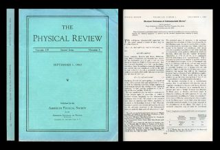 """Maximal Extension of Schwarzschild Metric"" in Physical Review 119, No. 5, September 1960,..."