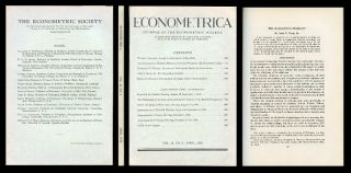 The Bargaining Problem, Econometrica, Vol. 18, No. 2, April 1950, pp. 155-162 [GAME THEORY,...