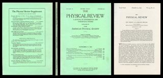The Theory of Complex Spectra, The Physical Review 34, 10, November 15, 1929, pp. 1293-1322...