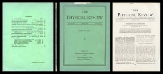 """Selection Rules for the -Disintegration"" in Physical Review 49, 15 June 1936, pp. 895-899...."