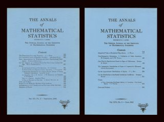 On Cumulative Sums of Random Variables (Annals of Mathematical Statistics 15 No. 3 pp. 283 –...